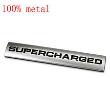 New Metal Supercharged Tailgate Truck Emblem Sticker Badge Decal For  L322 vogue