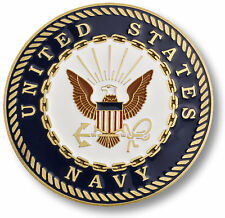 "U.S. Navy Seal - USN Adhesive Challenge Medallion 1 3/4"" Inch"