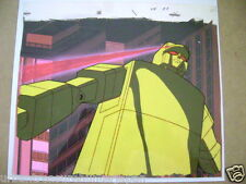 GOLDEN WARRIOR GOLD LIGHTAN ANIME PRODUCTION CEL AND BACKGROUND