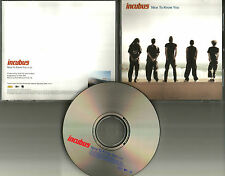 INCUBUS Nice to know you PROMO Radio DJ CD single 2001 USA MINT w/PRINTED LYRICS