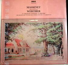 Massenet: Selezione dal Werther / Valletti, Elias, Souzay, Leibowitz - LP Sealed