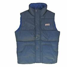 Hollister Quilted Padded Gilet Bodywarmer Size Extra Small Navy Blue