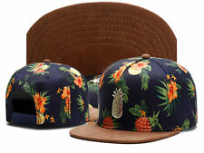Mens pineapple CAYLER SONS Snapback Adjustable Baseball Cap Hip hop beach Hat A4