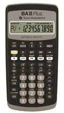 Texas Instruments TI-BA II PLUS Advanced Financial Calculator