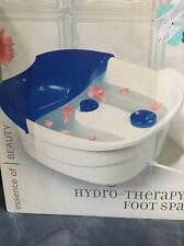 ESSENCE OF BEAUTY HYDRO-THERAPY FOOT SPA (BATH) - BRAND NEW IN THE BOX