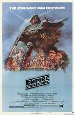 THE EMPIRE STRIKES BACK (1980) ORIGINAL ONE-SHEET STYLE B MOVIE POSTER  - FOLDED