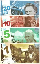 England /Brixton : Complete 4 piece Set, their 1st Series of Local Banknotes.