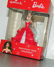 New Hallmark African American Holiday Barbie Christmas Ornament