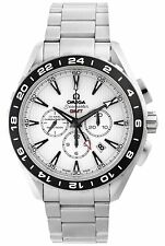 OMEGA Seamaster Aqua Terra GMT Gents Watch 231.10.44.52.04.001 - RRP £5840 - NEW