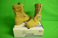 SIZE:9.5 Wide McRae Footwear Military Desert Boots coyote HW PANAMA JUNGLE SOLE