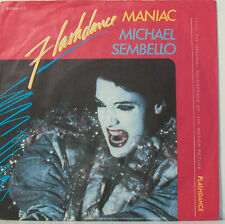"MICHAEL SEMBELLO - FLASHDANCE - MANIAC - 7""SINGLES (F788]"