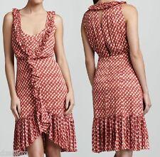 NWT $550 Tory Burch Janetta Circle Clip Dot Print Jacquard Dress Size 6