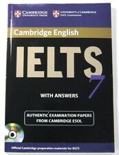 IELTS 7 ESOL OFICIAL CAMBRIDGE STUDENT'S BOOK CON RESPUESTAS Y MP 3 C D