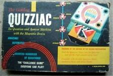 1960 The Golden Quizziac Question and Answer Game with the Magnetic Brain