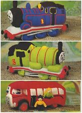 Toy Thomas the Tank Engine Knitting Pattern Beertie Percy Fat Controller DK 790