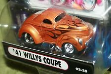 MUSCLE MACHINES 41 WILLYS COUPE GOLD FROM THE 2002 COLLECTION