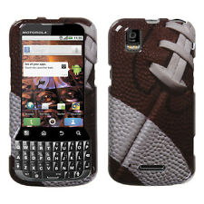 For Sprint Motorola XPRT MB612 HARD Protector Case Snap Phone Cover Football