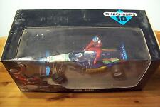 1/18 MICHAEL SCHUMACHER GIVING TAXI RIDE TO JEAN ALESI 1st VICTORY CANADA 1995