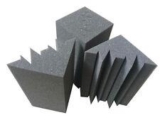 6PCS 12cm*12cm*24cm Charcoal Small Bass trap Soundproof Acoustic Foam for studio