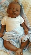 BEAUTIFUL AFRICAN AMERICAN  REBORN BABY GIRL OR BoY ( AISHA )