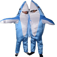Cartoon Shark Mascot Costume Material Fancy Dress Adult Animal Party Outfit Suit