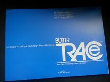 Butter Trace Tracing Drafting Sketching Paper Pad 38Gsm 50 Sheets A4