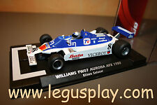 Slot SCX Scalextric Flyslot 055303 Williams FW07 Aurora AFX 1980 Salazar - New