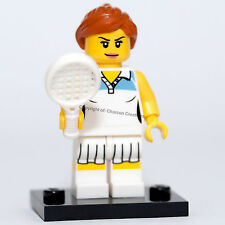 LEGO Minifigures Series 3 - Tennis Player (Removed from packet) NEW - COL044