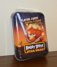 ANGRY BIRDS STAR WARS Children's Playing Cards Game red bird NEW sealed