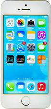 Factory Unlock Apple iPhone 5S 16GB TouchID 4G LTE World GSM Phone - Silver