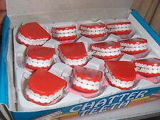120 Toy 2 inch Wind Up Chattering Teeth Office Birthday Party Novelty Favors