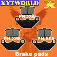 FRONT REAR Brake Pads for Kawasaki GPZ 550 ZX A1-A4 1984-1987