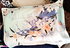 "100%SILK-PILLOW CASEx1*Hair+Skincare*Rejuvenation*Well Made""Floral Fantasy""0*BR"