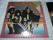 KISS LP RARE HOTTER THAN HELL ORIGINAL 1st PRESSING IN SHRINK 1974