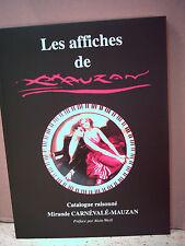 LES AFFICHES ( POSTERS ) DE MAUZAN. 1883-1952. CATALOGUE RAISONNÉ (Hautes-Alpes)