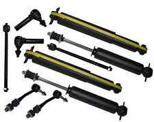 RWD Durango Dakota Suspension Tie Rods Sway Bar Front & Rear Shock Absorbers Kit