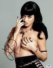 Katy Perry Signed Sexy Authentic Autographed 11x14 Photo PSA/DNA #Z48651