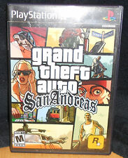 """Grand Theft Auto: San Andreas """"M"""" Version (Sony PlayStation 2, 2004)"""