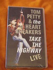 Tom Petty & the Heart Breakers, Take The Highway Live, VHS Video Tape