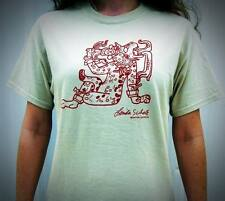 Linda Schele Drawing of the Ancient Maya Water-Lily Jaguar T-Shirt