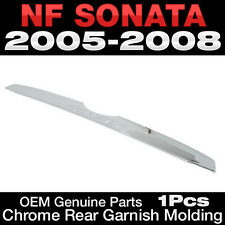 OEM Genuine Parts Chrome Rear Garnish Molding For HYUNDAI 2006-2010 NF Sonata