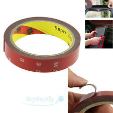 Auto Truck Car Acrylic Foam Double Sided Attachment Tape Adhesive 3m x 20mm USA