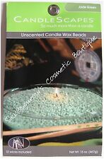 Candlescapes Wax Beads JADE GREEN 15 oz. No Mess Candle Free US Shipping