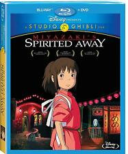 Miyazaki's Spirited Away: Disney Anime Movie DVD / BluRay Combo Set NEW!