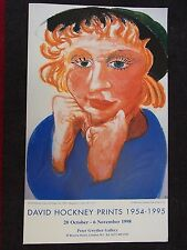 David Hockney RA Plate Signed print POP ARTCelia Jeffrey Archer - Most Destroyed