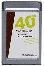 New Gigaram 40MB PCMCIA ATA Flash Card (Sandisk equivalent p/n SDP3B-40)