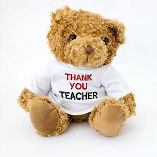 """""""Thank You Professeur"""" Mignon Ours En Peluche Cadeau Pour Dire Merci Professeur"""