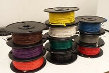 TYPE E 18 AWG PTFE wire - High Temperature wire - 100 FT. ANY COLOR!