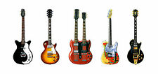 Jimmy Page's Guitars Greeting Card, DL size