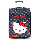 """Sanrio Hello Kitty Luggage 20"""" Polka Dots Rolling Suit Case Trolley Bag"""